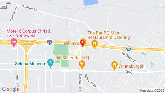 La Quinta Inn by Wyndham Corpus Christi North Map