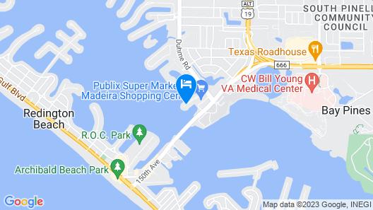 Courtyard St. Petersburg Clearwater/Madeira Beach Map