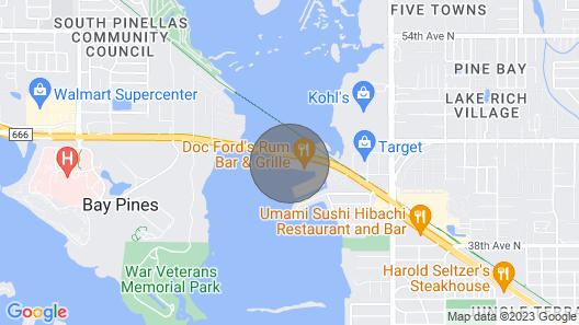 Cozy Waterfront Condo At Boca Ciega Resort Map