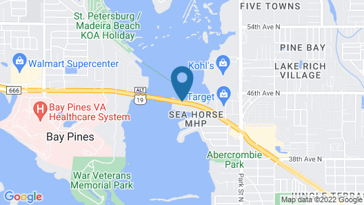 Boca Ciega Resort Map