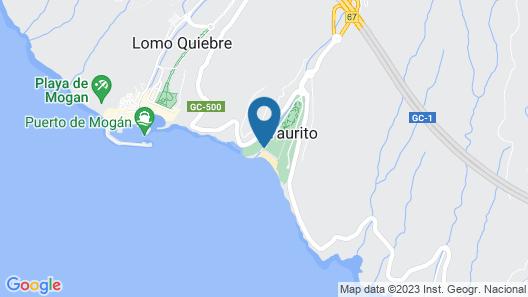 Hotel Taurito Princess - All Inclusive Map