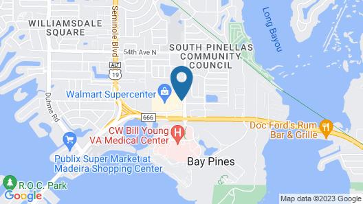 Holiday Inn Express & Suites St. Petersburg - Madeira Beach, an IHG Hotel Map