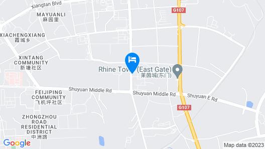 Xiangtan Chengyuan Hotel Map