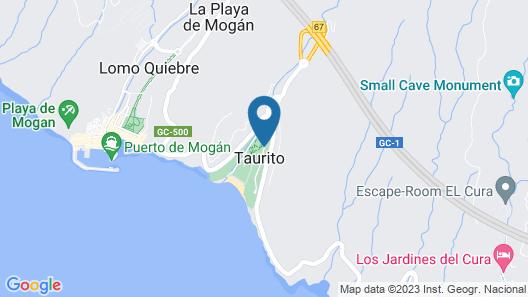 Hotel THe Costa Taurito Map