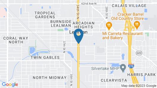 Days Inn by Wyndham St. Petersburg / Tampa Bay Area Map