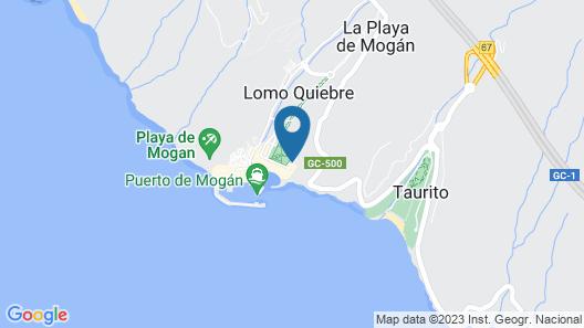 Playa De Mogan El Parque D Map