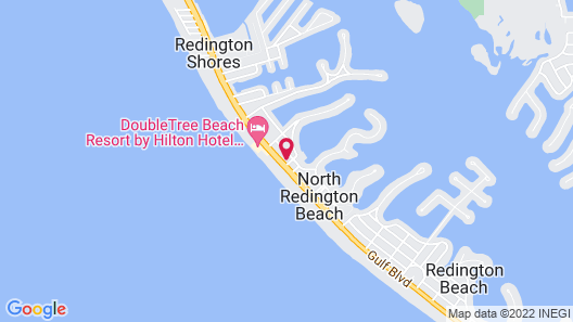 Malibu Resort Motel Map
