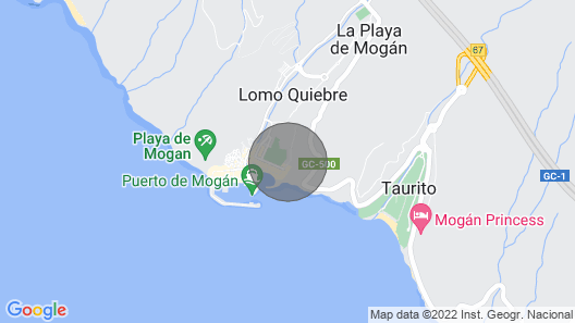 Parque D - Afternoon sun and Quiet Area Map
