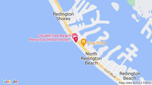 Sandalwood Beach Resort Map