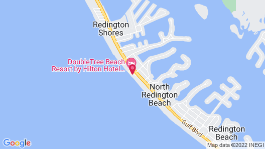SANDALWOOD BEACH RESORT Map