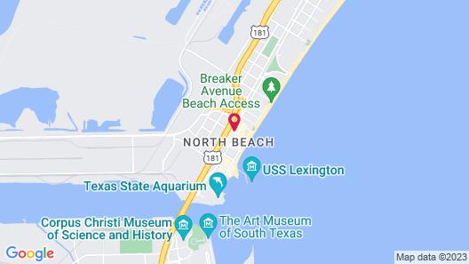 Quality Inn & Suites on the Beach Map