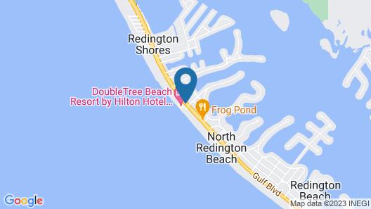 DoubleTree Beach Resort by Hilton Tampa Bay - North Redingto Map