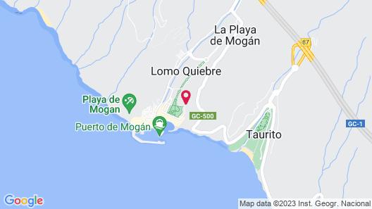 Cordial Mogán Solaz Map