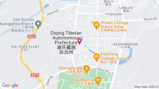 Diqing Argyle Hotel Map
