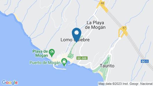 Hotel Cordial Mogán Playa Map