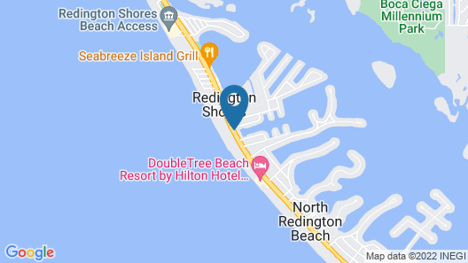 Sand Vista Vacation Rentals Map