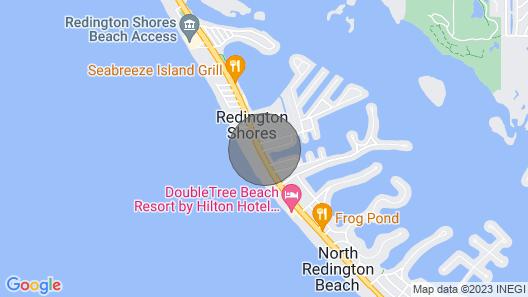 Bright Coastal Condo Near the Beach W/ Shared Pool, High-speed Wifi & More! Map