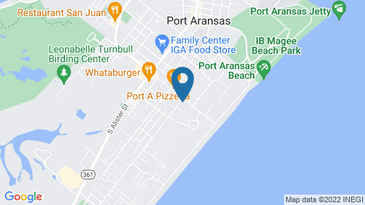 Holiday Inn Express & Suites Port Aransas/Beach Area, an IHG Hotel Map
