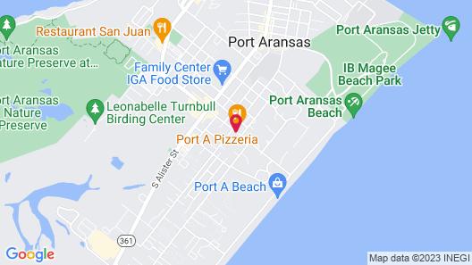 Best Western Port Aransas Map