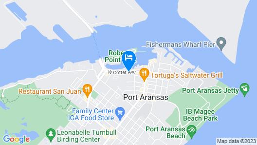 Captain's Quarters Inn Map