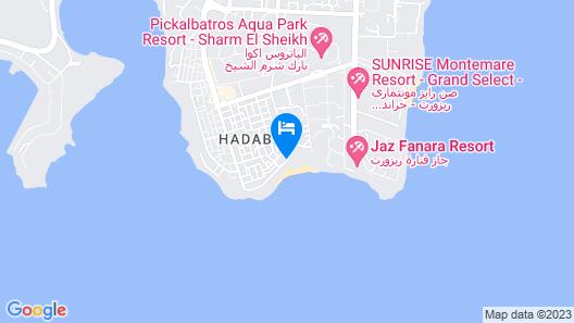 Club El Faraana Reef Map