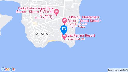 Jaz Fanara Resort Map
