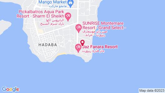 Renaissance Sharm El Sheikh Golden View Beach Resort Map
