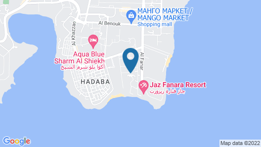 Reef Oasis Beach Resort - All-Inclusive Map