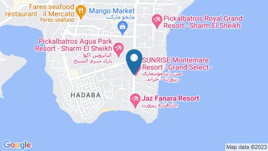 SUNRISE Montemare Resort -Grand Select- Map