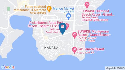 SENTIDO Reef Oasis Senses Resort - All-Inclusive Map