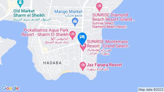 Sharm Waterfalls Resort Map