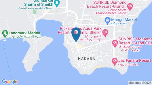 Aqua Blu Resort Sharm El Sheik - Families & Couples Only Map