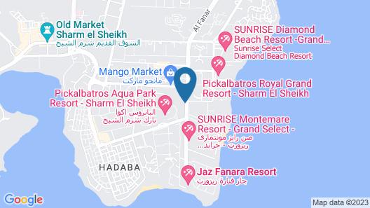 Albatros Aqua Park Sharm El Shiekh - Families & Couples Only Map