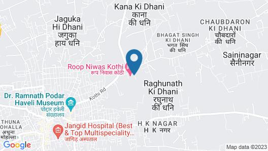 Hotel Roop Vilas Palace Map