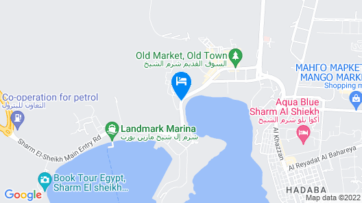 Turquoise Beach Hotel Map