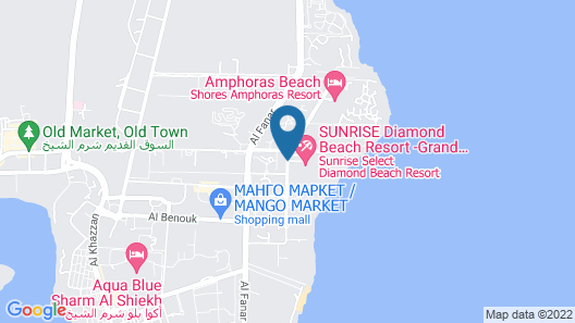 SUNRISE Diamond Beach Resort - Grand Select Map
