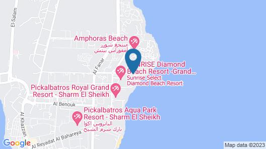 Carlton Luxury Resort Map