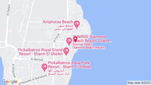 Monte Carlo Sharm Resort & Spa Map