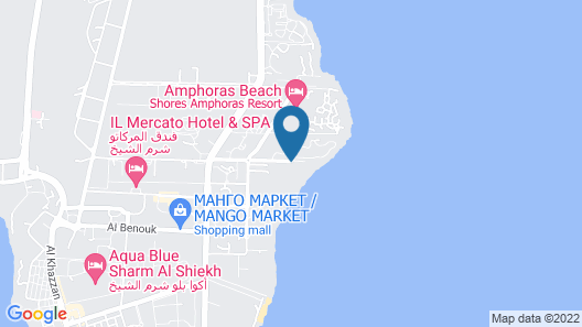 Monte Carlo Sharm Resort & Spa  Map