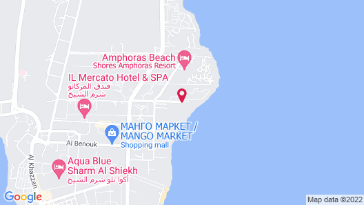 Carlton Deluxe Residences & Apartments Map