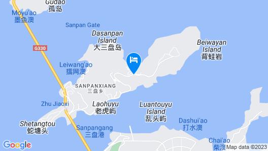 Golden Coast New Century Resort Wenzhou Map