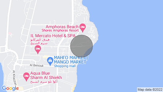 Amazing 4 Bedroom Villa Directly at the Red Sea Map