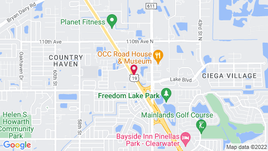 La Quinta Inn & Suites by Wyndham Clearwater South Map