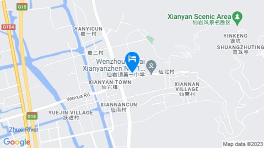 Ramada Plaza by Wyndham Wenzhou Map