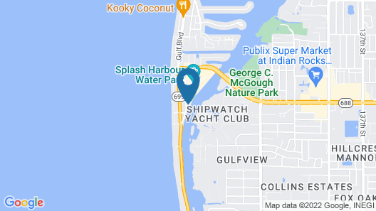 BeachTrail Lodging Map
