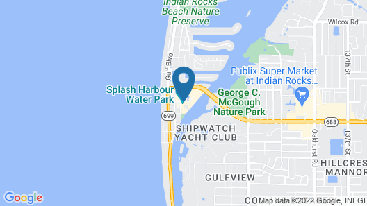 Holiday Inn Hotel & Suites Clearwater Beach S-Harbourside, an IHG Hotel Map