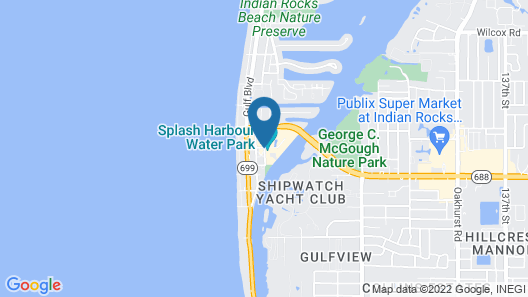 Holiday Inn Hotel & Suites Clearwater Beach S-Harbourside Map