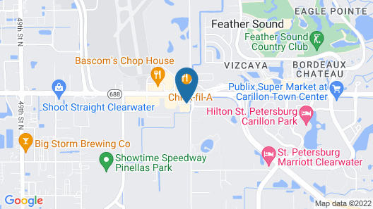 Super 8 by Wyndham Clearwater/St. Petersburg Airport Map