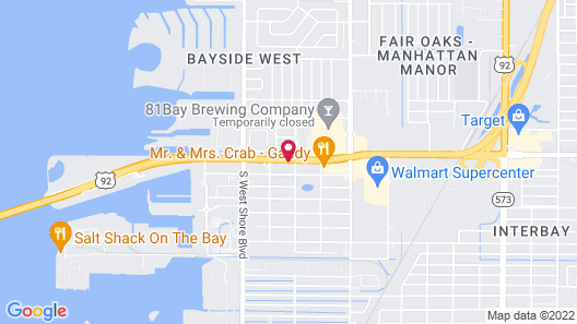 La Quinta Inn & Suites by Wyndham Tampa Bay Area-Tampa South Map