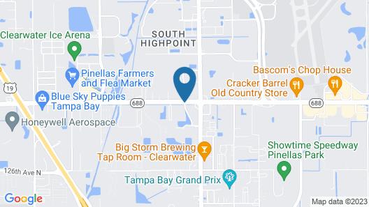 Residence Inn By Marriott St Petersburg Clearwater Map